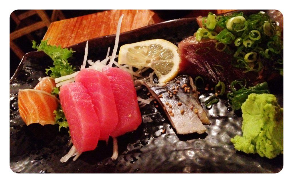 Salmon, tuna, mackerel