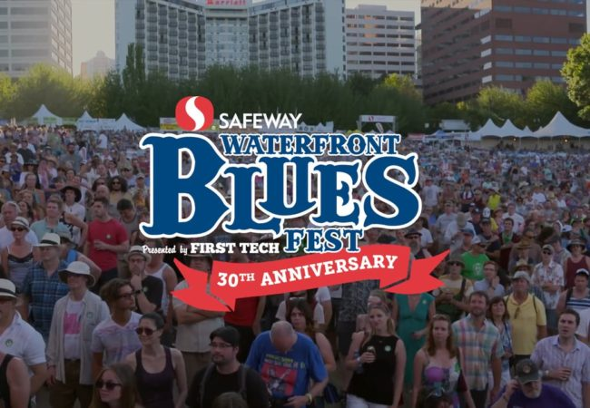 Gear up for the 30th Safeway Waterfront Blues Festival!