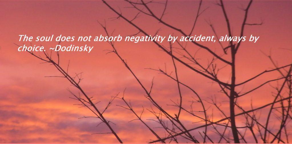 making you negative