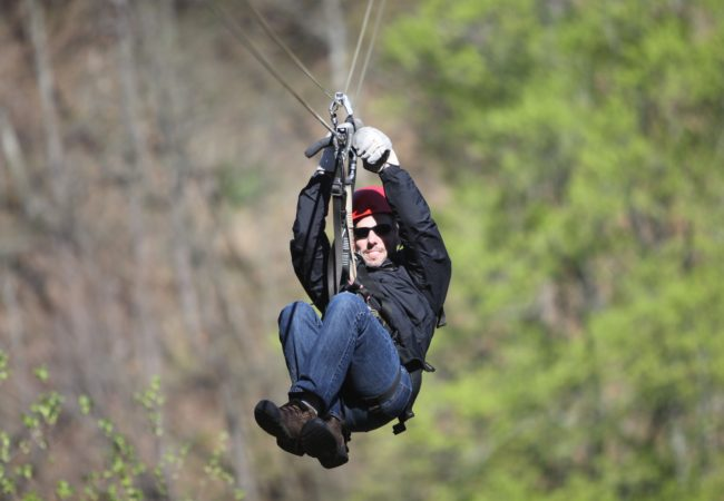 Are You Up For A Rush Of Adrenaline On Oregon's Longest Zip Line?