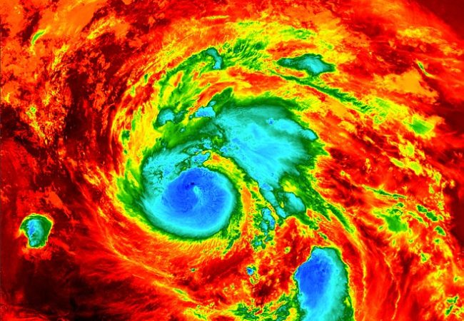 European Space Agency shared under Wikimedia Commons http://www.esa.int/spaceinimages/Images/2017/08/Hurricane_Harvey